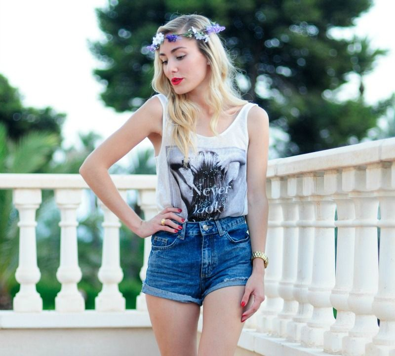BLOG PERSONAL STYLE: Flowers Crown