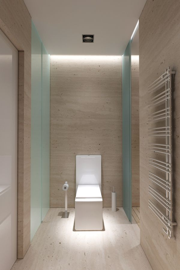 Toilet Room Design Ideas Part - 35: Sophisticated Room Designs With Stripped Back Style