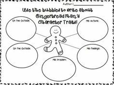 writing activities with gingerbread man - Fittex bil-Google ...