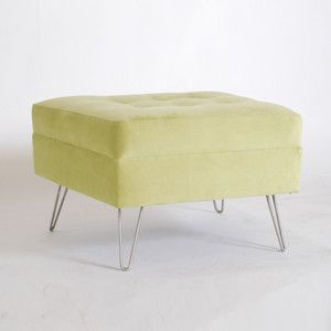 Laird Ottoman Bella Gecko, $320, now featured on Fab.