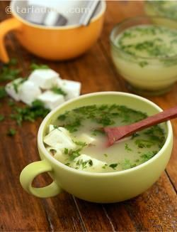 Whey soup calcium rich recipe recipe recipes recipe recipe dont discard the whey the next time you make paneer this liquid is forumfinder Images