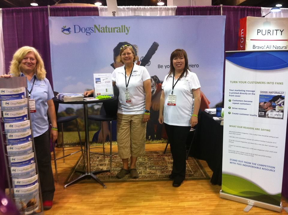 Dogs Naturally Magazine in Chicago at the Total Pet Expo