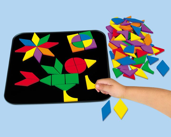 Classroom Designer Lakeshore Learning Materials : Magnetic mosaic design board lakeshore learning
