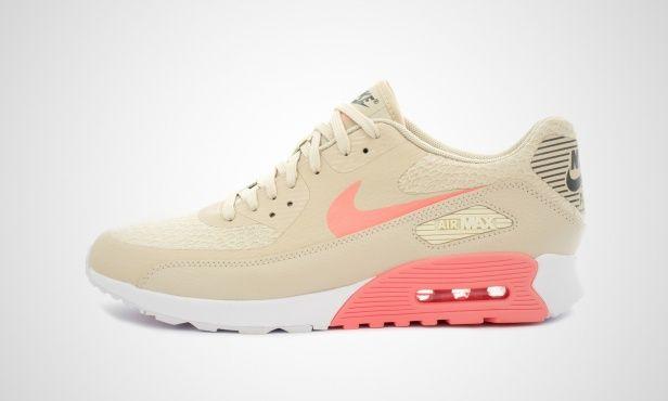 online store d5711 df1d2 Nike WMNS Air Max 90 Ultra 2.0 (beige   pink) - 881106-100   43einhalb  sneaker store