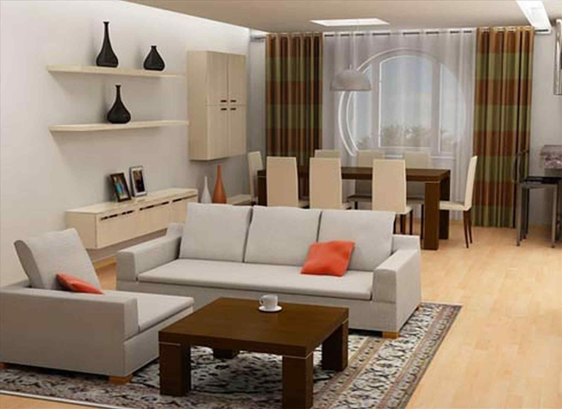 Modern Furniture Ideas For A Small Living Room Brown Leather Sofa