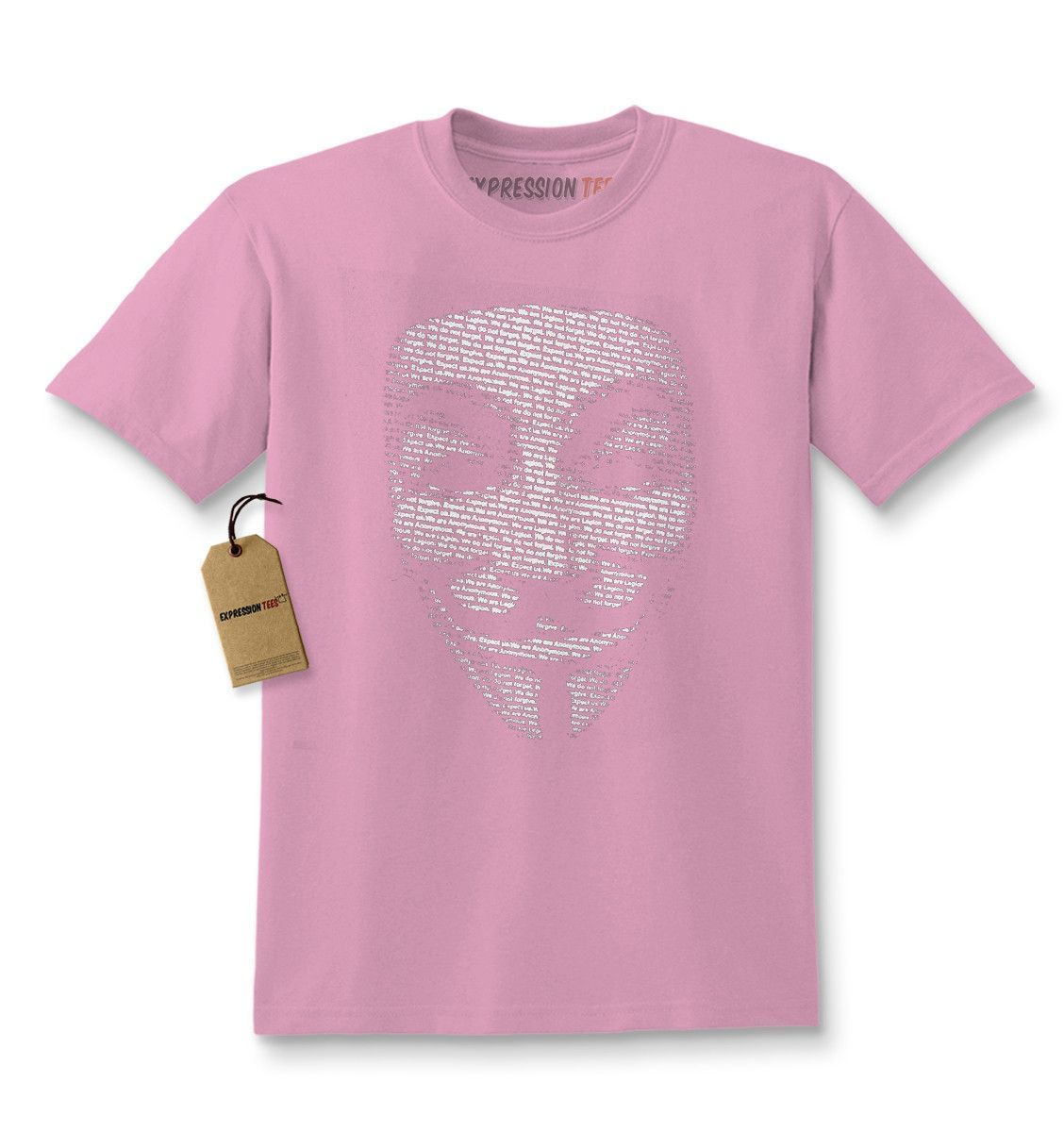 V for Vendetta / Guy Fawkes Mask Kids T-shirt | Shirts, Products ...