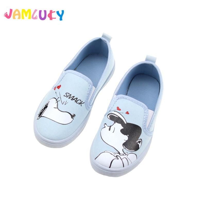 Summer Anti-Slip Boys Girls Mixed Color Shoes Sandals Kid Toddler Casual Canvas