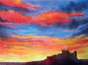 How To Paint A Vibrant Sunset In Watercolour With Gwen Scott