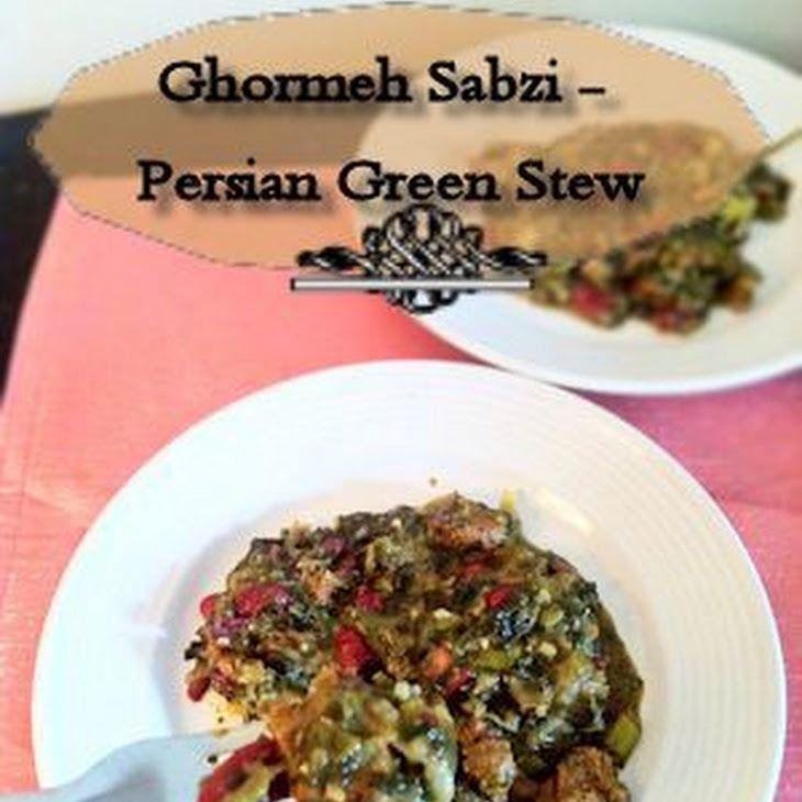 Ghormeh Sabzi – Persian Green Stew