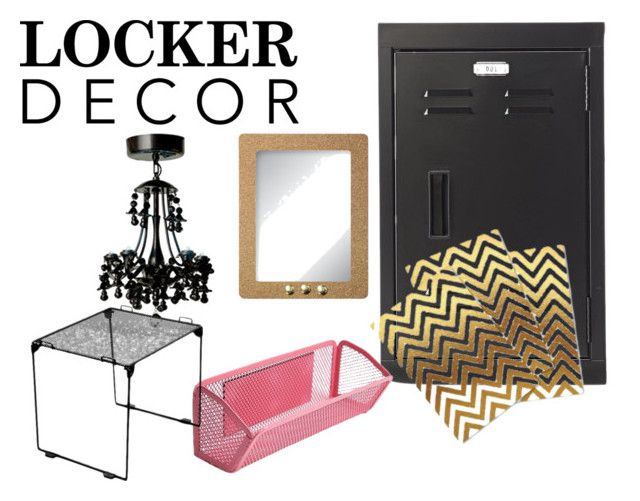 """""""Lock it & Throw Away the Key"""" by heathermariehammel on Polyvore featuring interior, interiors, interior design, home, home decor, interior decorating and Home Decorators Collection"""