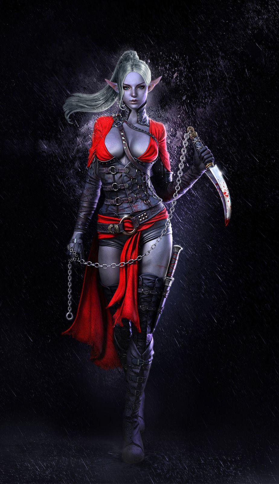 Dark Elf 3d