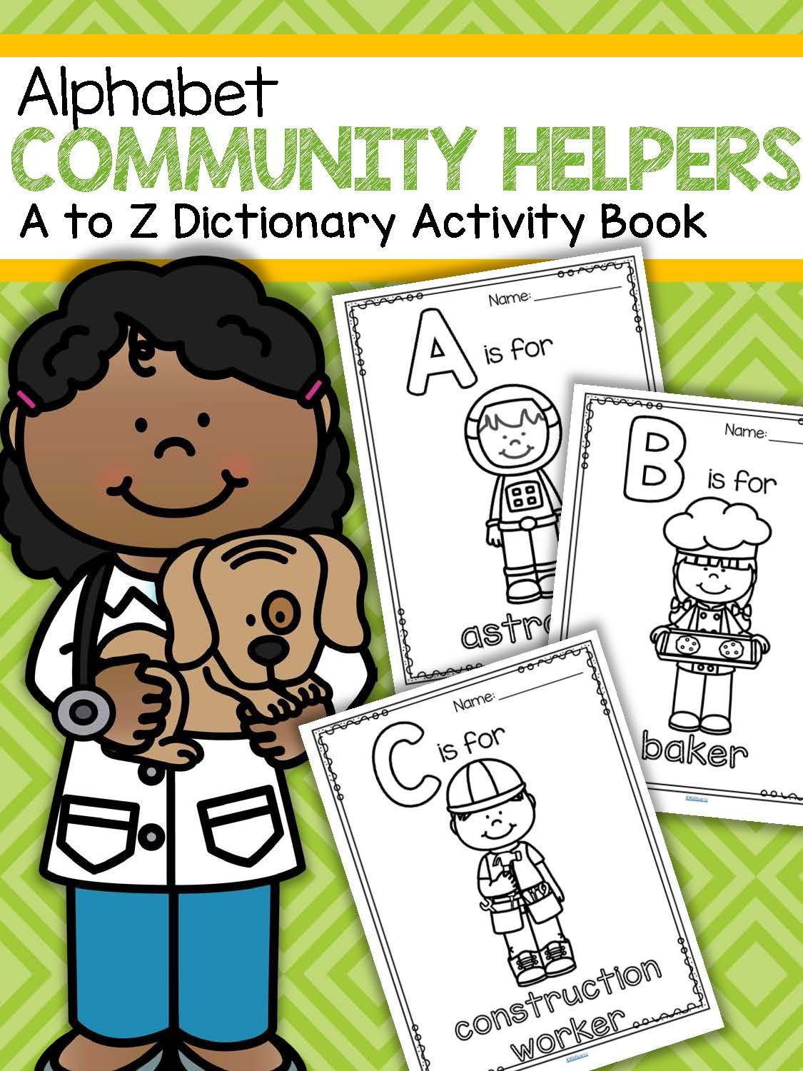 Community Helpers Alphabet