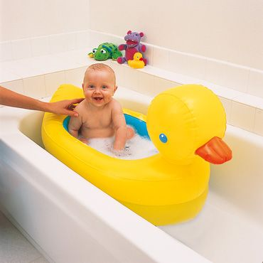 Inflatable Rubber Duck Bath Baby Tub Baby Bath Tub - Bathing Baby Without Tub
