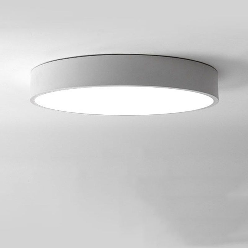 Modern minimalism led ceiling light round indoor led down light ceiling lamp creative personality study dining room balcony lampchina mainland