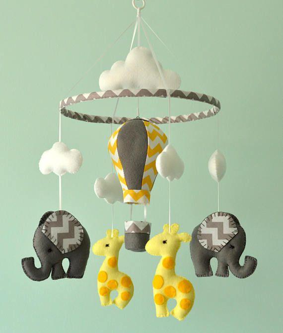 Bambino Baby Elephant Mobile Nursery