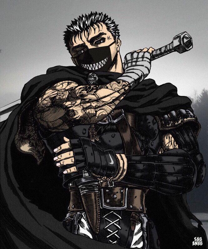 Pin by anвυ on AnвυTrash Berserk, Dark anime, Anime naruto