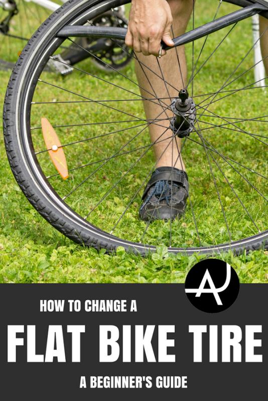 How To Change A Flat Bike Tire Bike Tire Bike Road Bike Tires