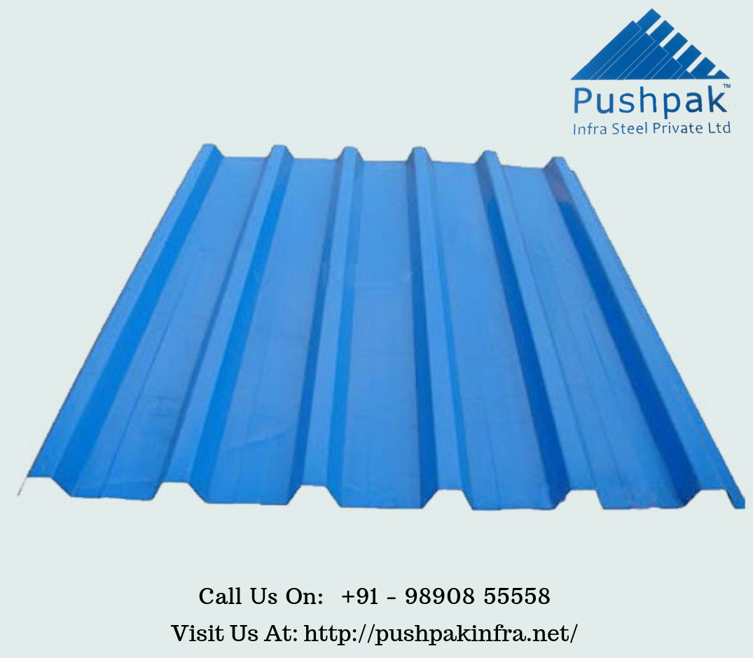 Pushpak Infrasteel Is Best Color Coated Sheets Manufacturer Supplier And Distributor Company In Pune India We Offer Cladding Sheets Manufacturing Cool Roof