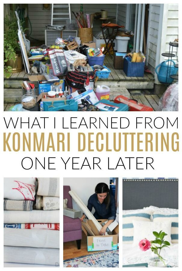 Learn How The KonMari Method Changed Our Home + Sparked Joy In Our Lives Again After One Year