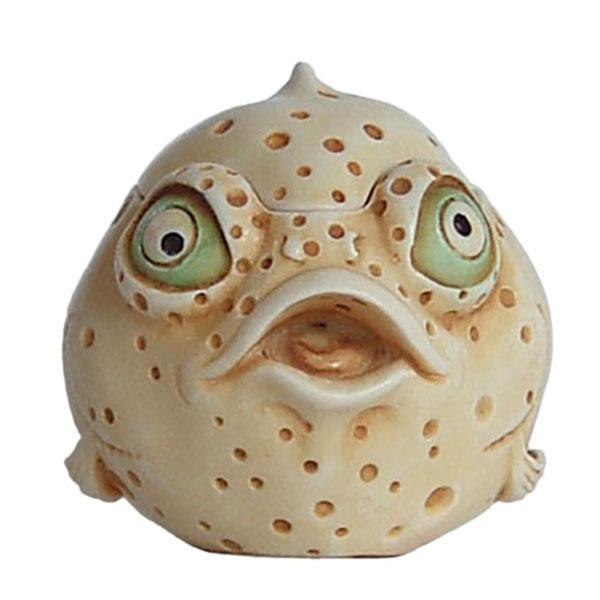 Monica - Harmony Kingdom Blow Fish Roly Poly