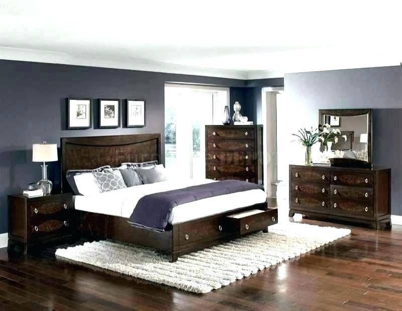 Grey Bedroom Decor, Dark Brown Furniture Bedroom