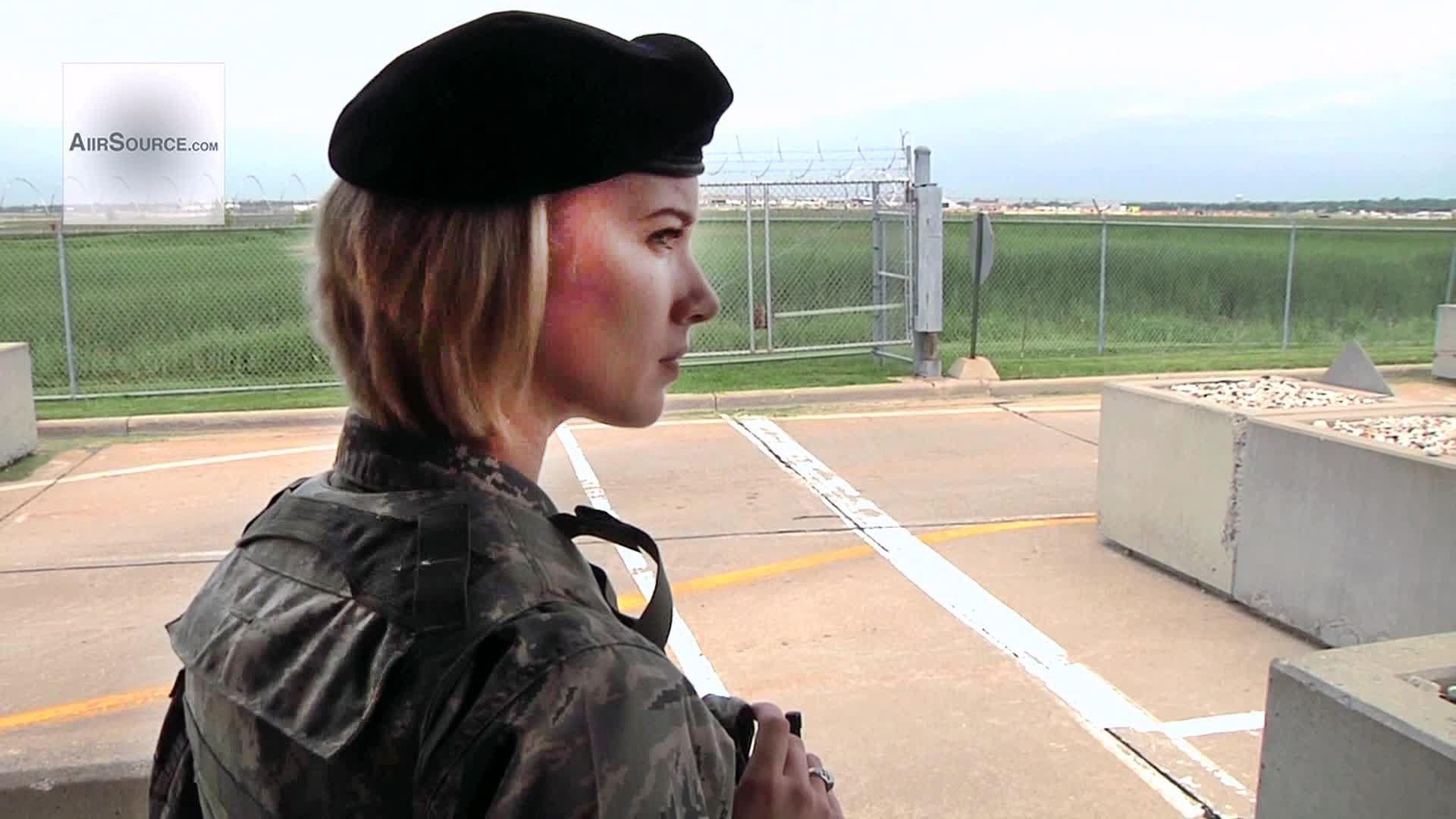 Female airman air national guard national guard