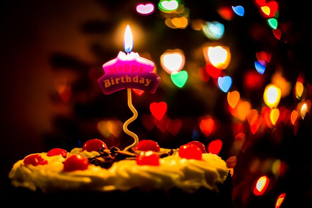 Happy Birthday Candle Light