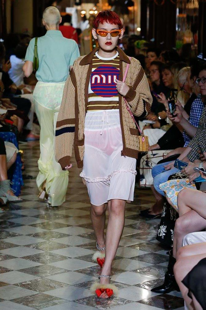 8536d4e3e0b4 Miu Miu Resort 2019 Collection - Vogue