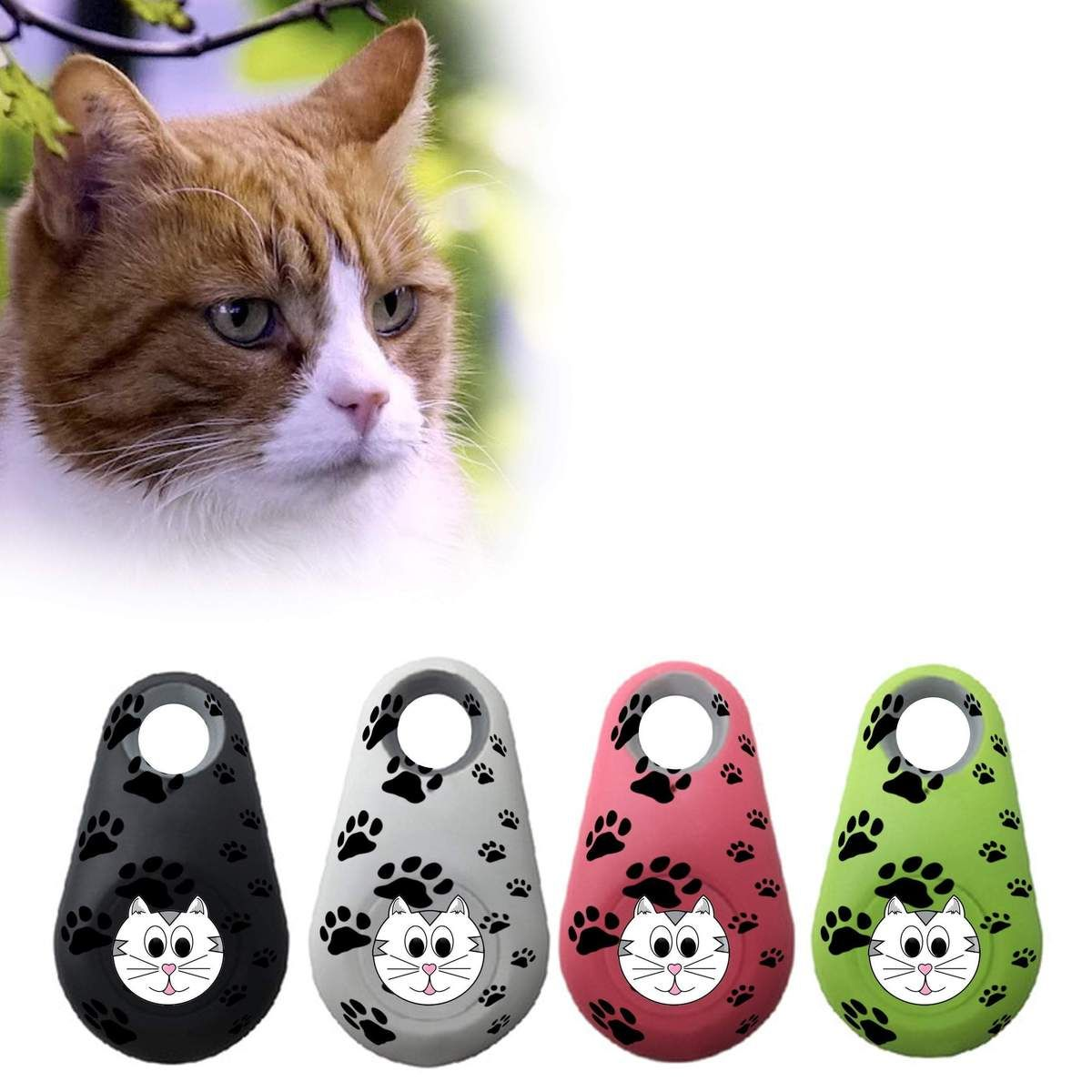 2018 Cats Smart Mini GPS Tracker Waterproof Bluetooth