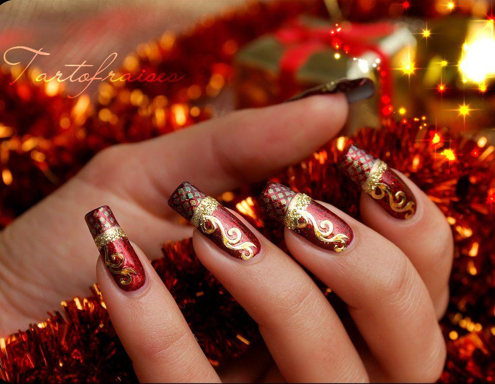 Christmas Nails | holiday | Pinterest | Christmas nail art, Christmas nails  and Nail Art - Christmas Nails Holiday Pinterest Christmas Nail Art