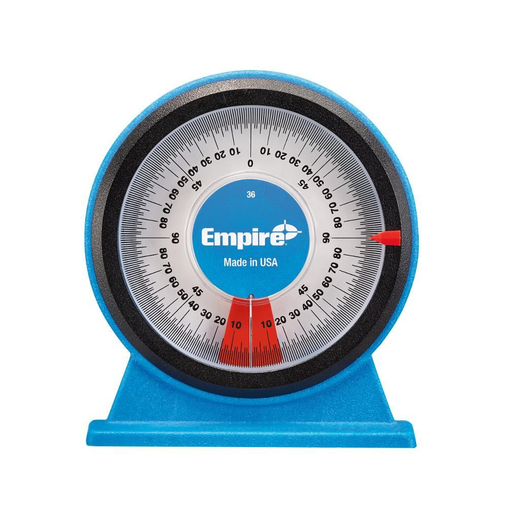 Empire Polycast Magnetic Protractor 36 Protractor Shop Layout Tools For Sale