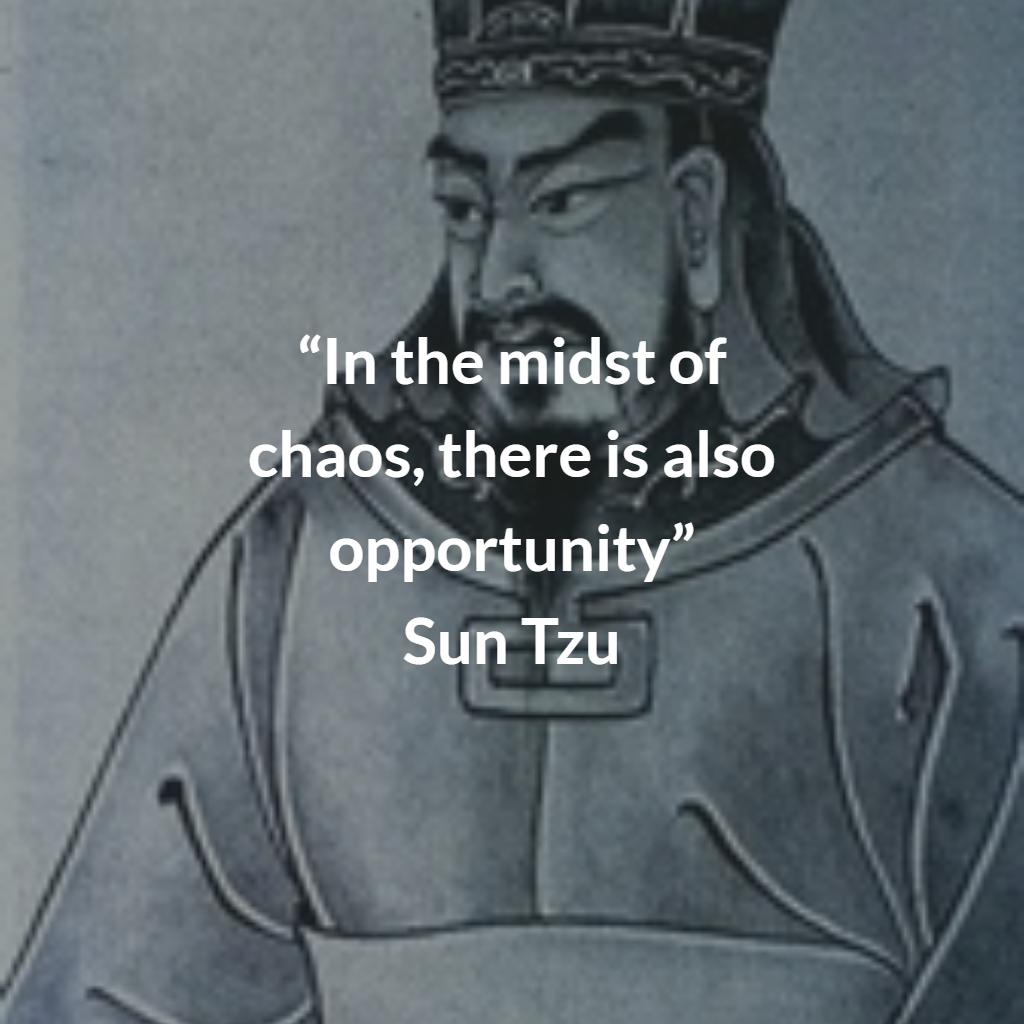 A quote from A Arte da Guerra