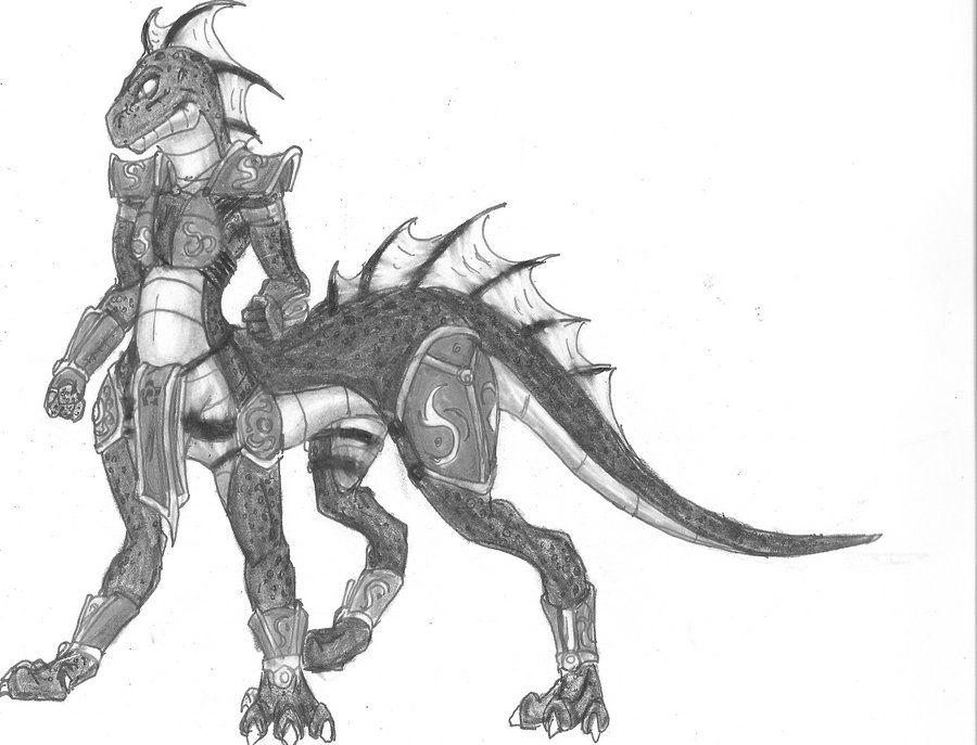 Dragonkin Female by dragonmaster861995 on DeviantArt