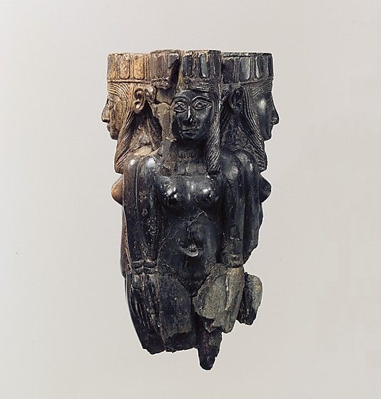 Handle in the form of four nude females METROPOLITAN MUSEUM Period: Neo-Assyrian Date: ca. 8th–7th century B.C. Geography: Mesopotamia, Nimrud (ancient Kalhu) Culture: Assyrian Medium: Ivory