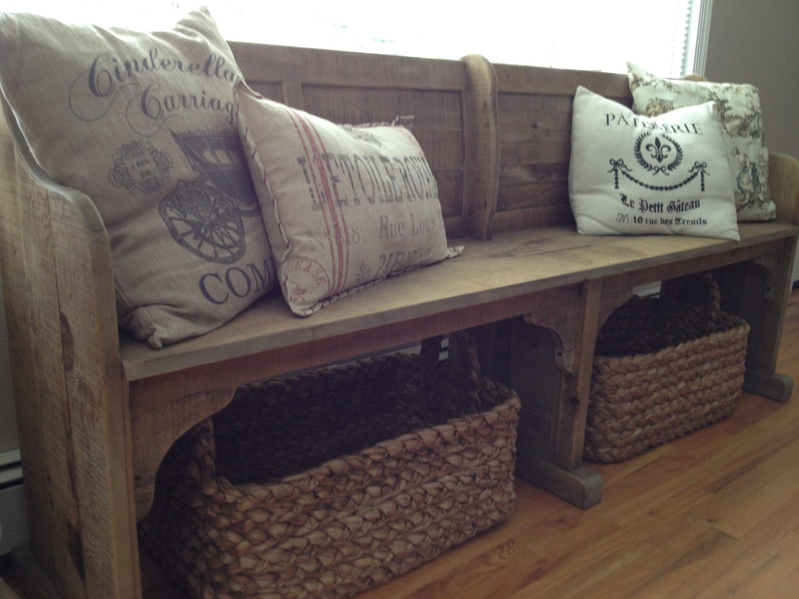 long dining bench with back Dining Room Update {New