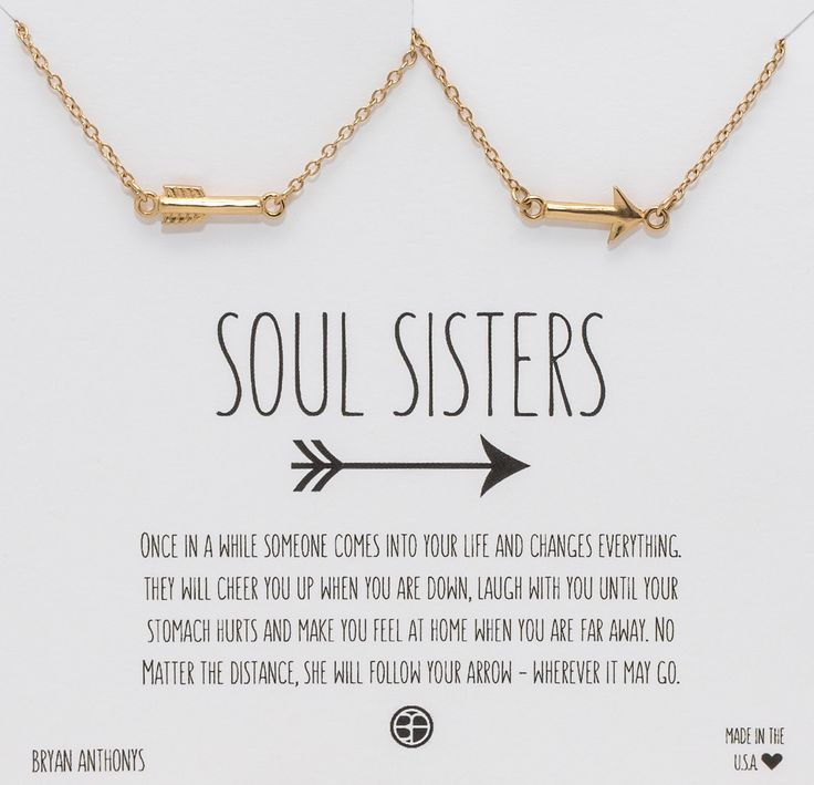 Soul Sister Quotes Soul Sisters Best Friend Arrow Necklaces | || Sister Bonds  Soul Sister Quotes