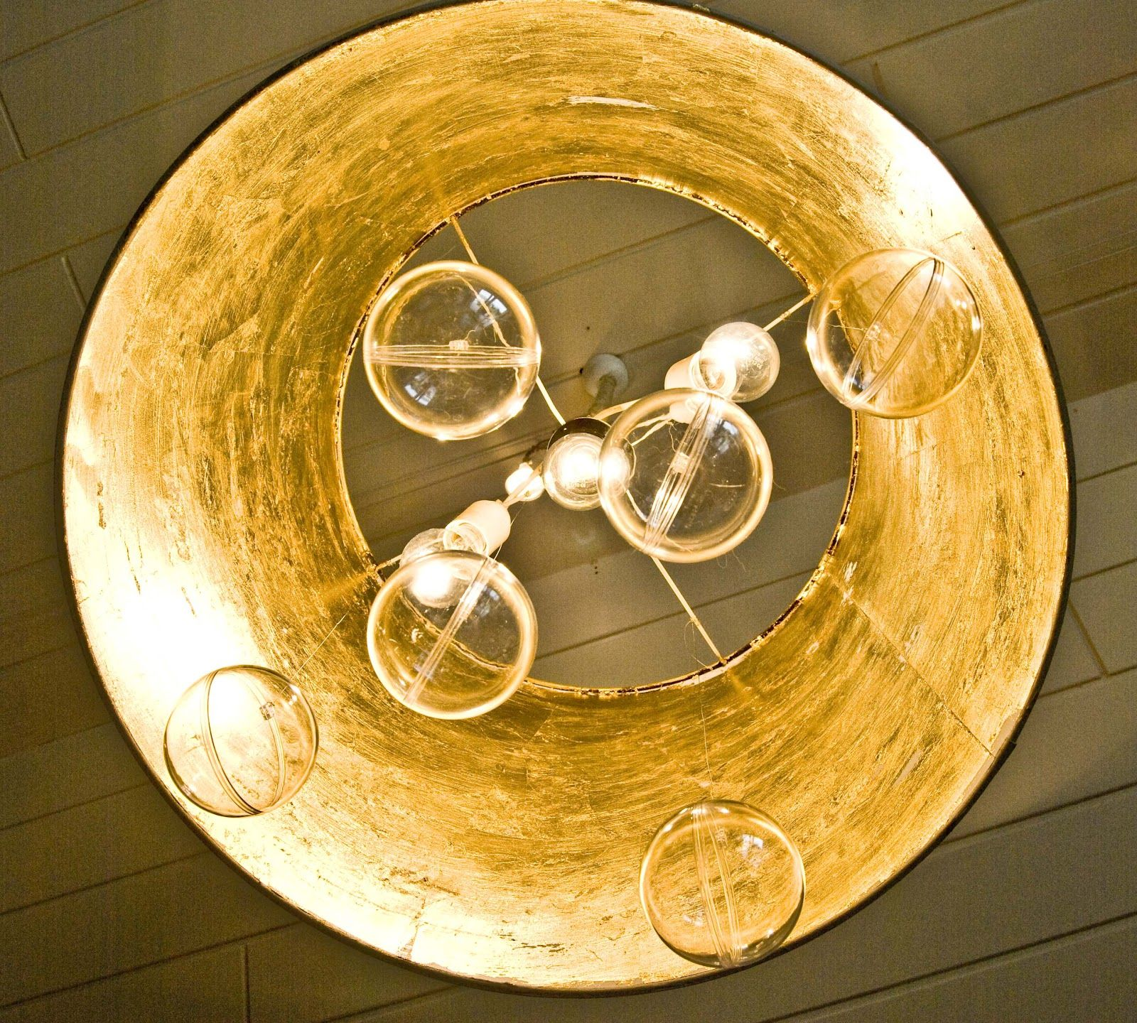 """Hello Lovelies,   today I wanna show you how   I made this cute """"bubble"""" chandelier      only from these materials.         An IKEA lamps..."""