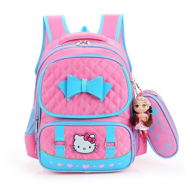 3c208ffa8f Hello Kitty Children School Bags For Girls Kids Schoolbag Cartoon Kids  School Backpacks Mochila Infantil 4 colors