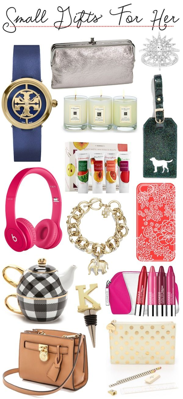 Gift Guide | Small Gifts For Her (at various price points) | Holiday ...