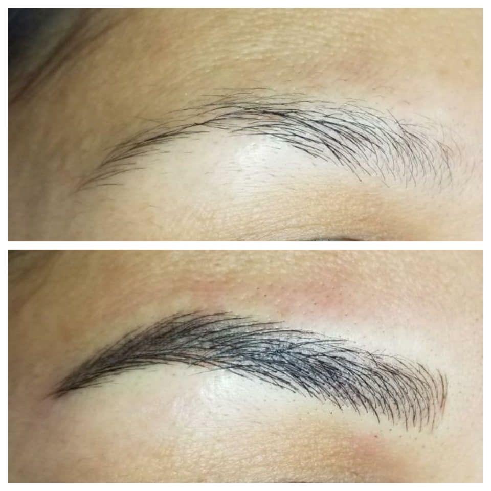 Fixing Over Plucked Thin Eyebrows Eyebrowtattoo Hdbrows