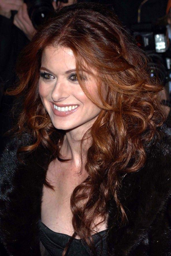 Debra Messing Natural Hair