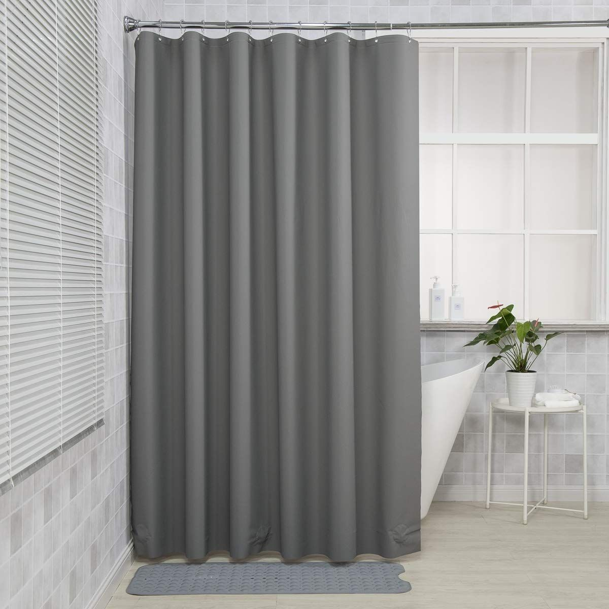 Amazerbath Plastic Shower Curtain 72 W X 72 H Eva 8g Shower