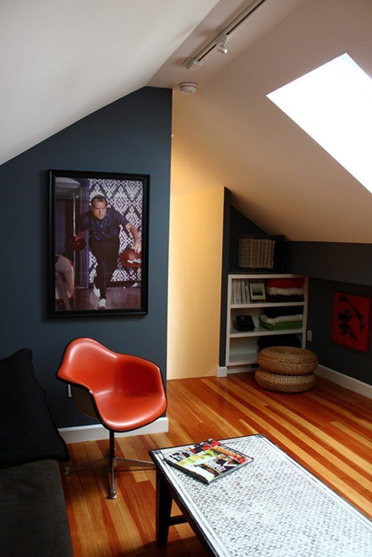 Lighting For Small Spaces small space contrasts: light vs. dark walls | contrast lighting