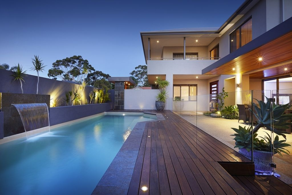 Exterior Popular Home Swimming Pool Cost Pool Swimming Pool At Home Cost How Much With Image
