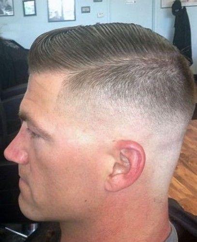 Pin By Claudia Rojano On Shaved Napes Military Haircut Marine Haircut Military Hair