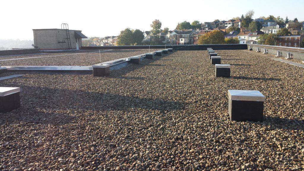 Commercial asphalt flat roofing flat roof commercial
