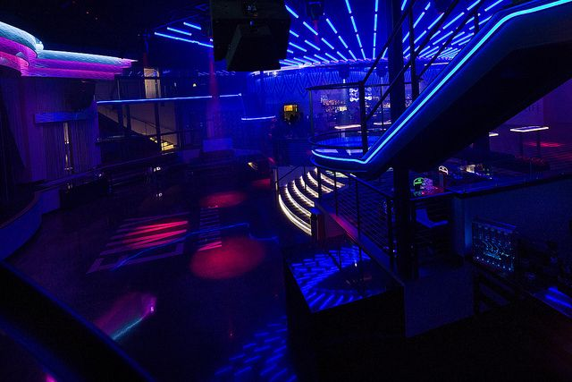 Interior Casino Nightclub Nightclub Design Led Light Design Club Design