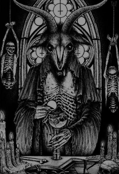 Dark Art Satan Satanic Art Occult Art Art