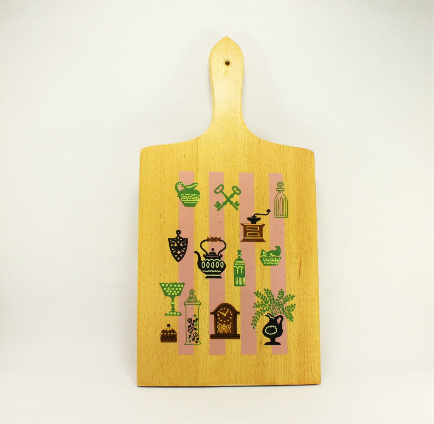 Vintage Kitchen Wall Decor Cutting Board, Vintage Wall Hanging ...