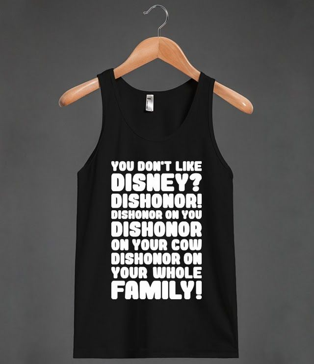 Mushu Dishonor Rant | Tank Top | Fun Mulan Disney Quote Shirts ...